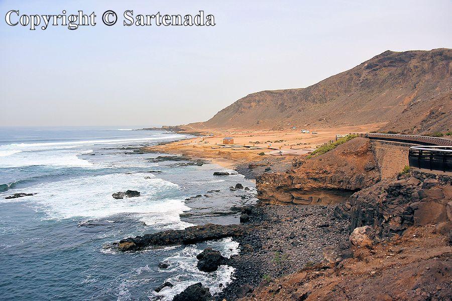 12. El Confital beach