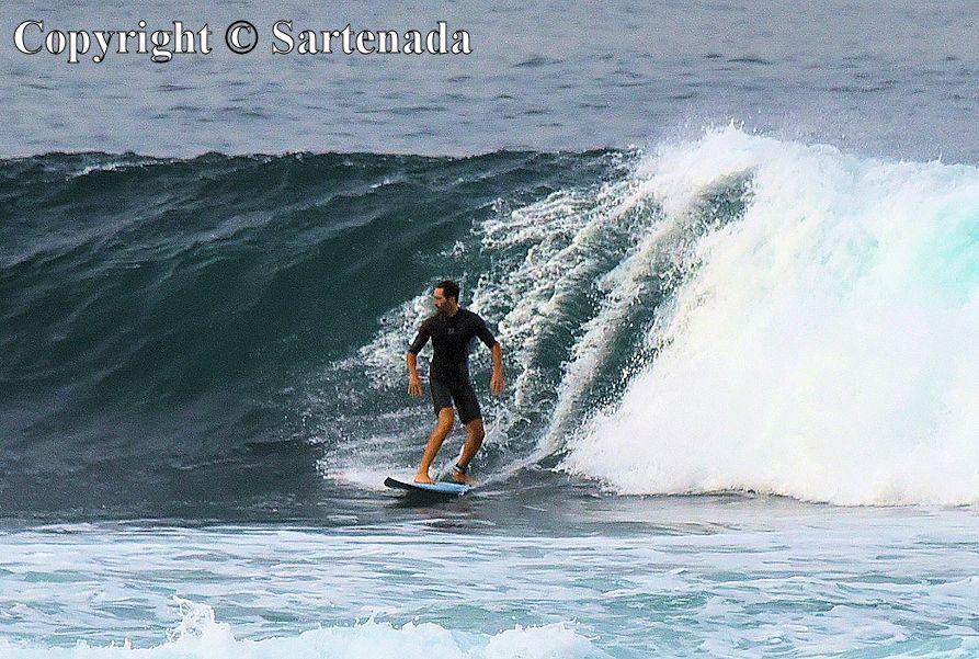 15. El Confital - surfing paradise in Las Palmas