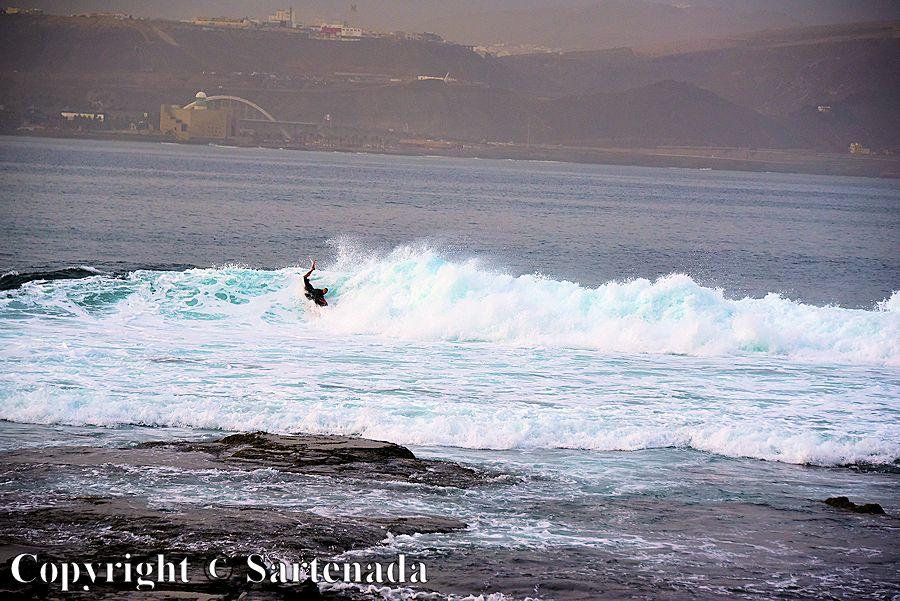 17. El Confital - surfing paradise in Las Palmas