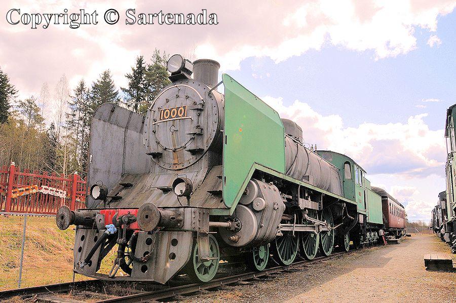 Steam locomotive park / Parque de locomotora de vapor / Parc de locomotive à vapeur / Parque de locomotiva a vapor