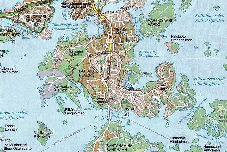 Laajasalo_Map