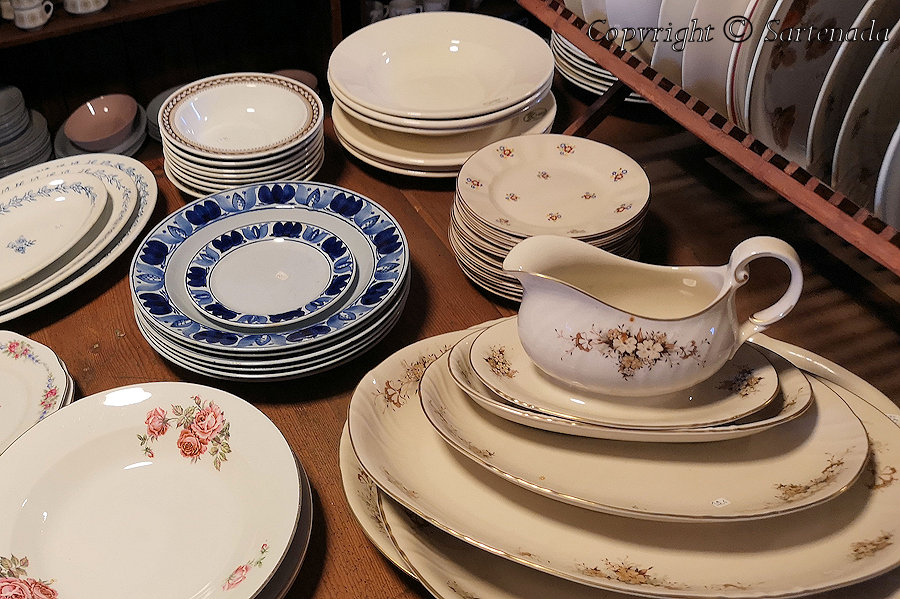 Old Tableware
