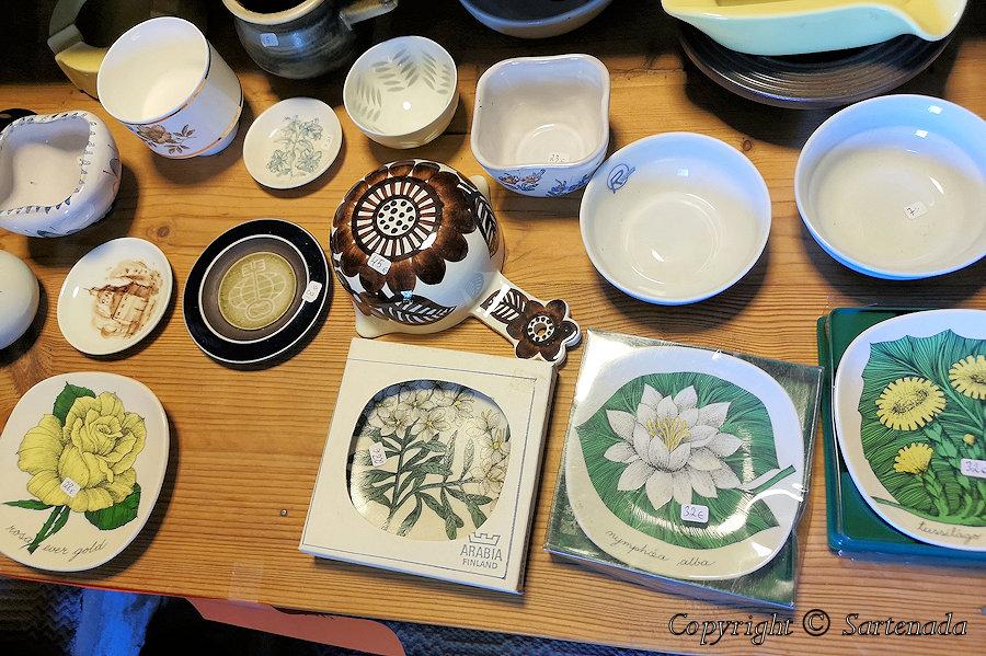 Old Tableware