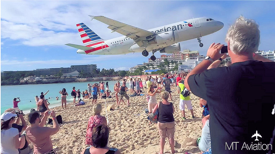 Landings EVER at St Maarten Airport