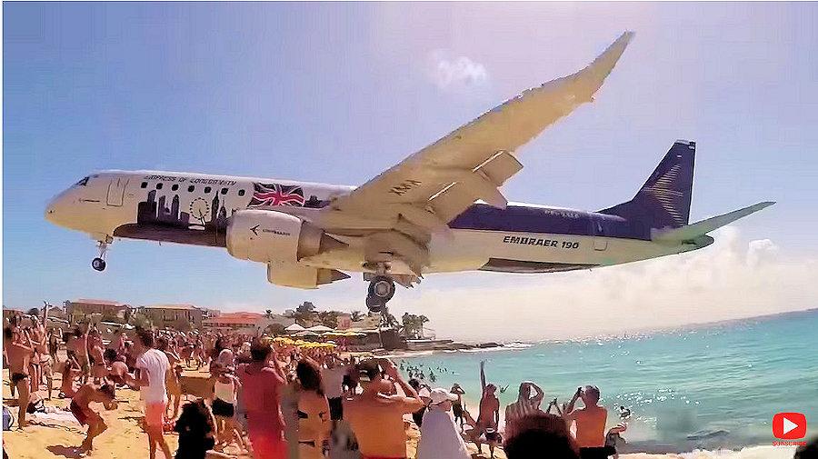 LOWEST Landings EVER at St Maarten Airport
