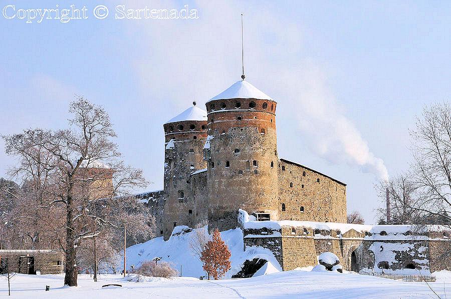 Château d'Olavinlinna.